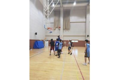 진해청소년전당 농구동아리(아드레날린)선후배의 만남